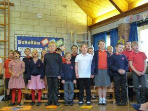 Key stage 2 singing